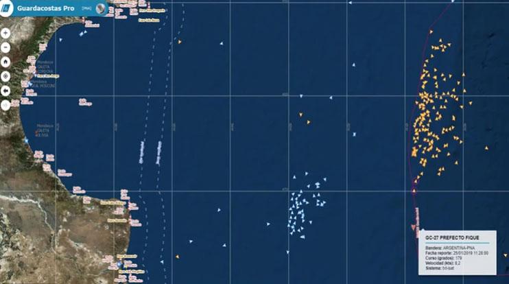 Exhaustiva Resena De La Pesca Ilegal En El Atlantico Sur
