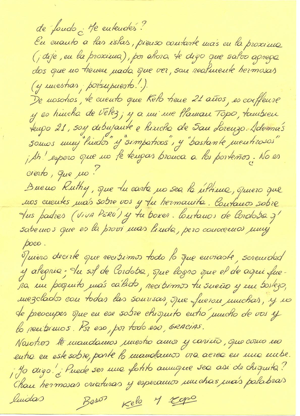 Una Carta De Perdon Para Inmigracion